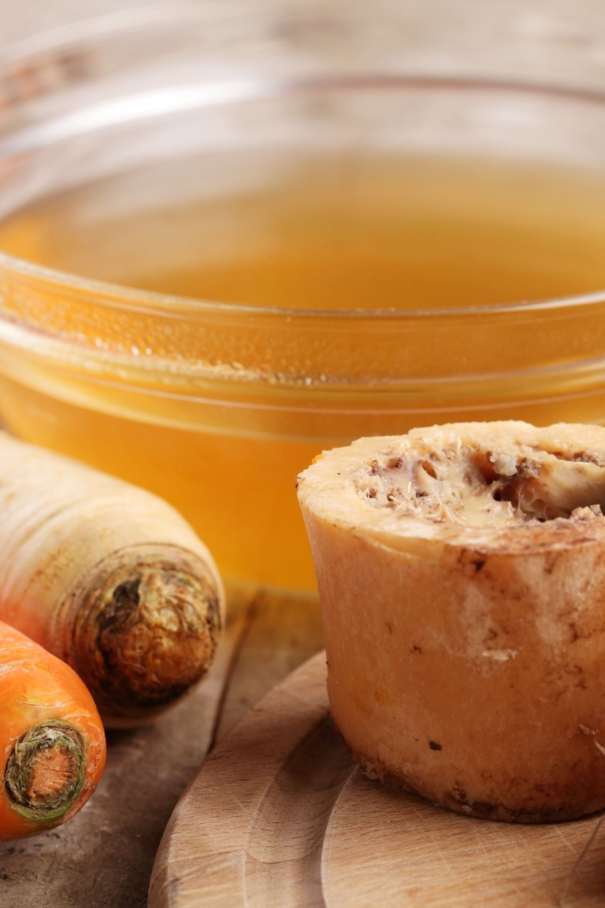 Instant bone broth for dogs