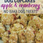 homemade dog cupcake recipe PIN