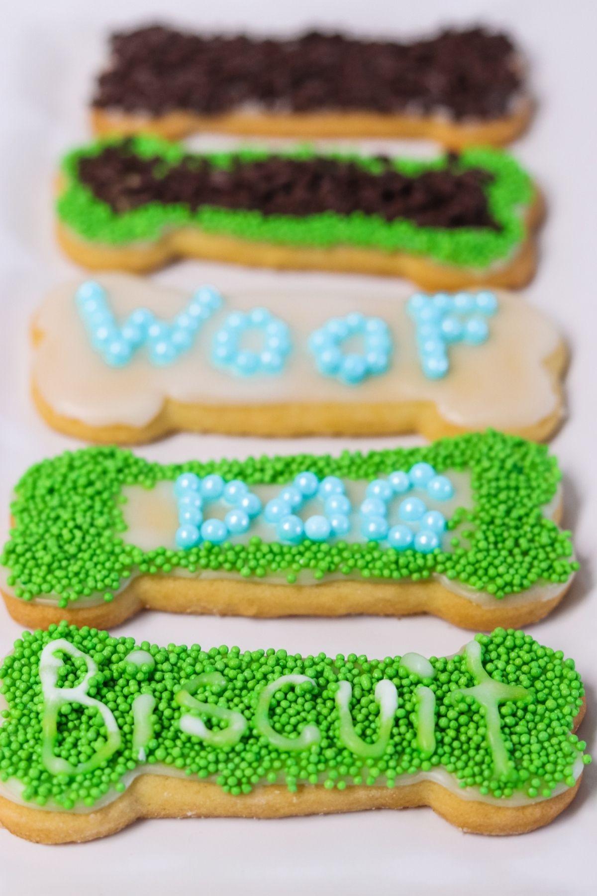 April Fool's Dog Cookies