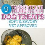 soft and savory dog treats PIN