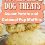 sweet potato and oatmeal muffins