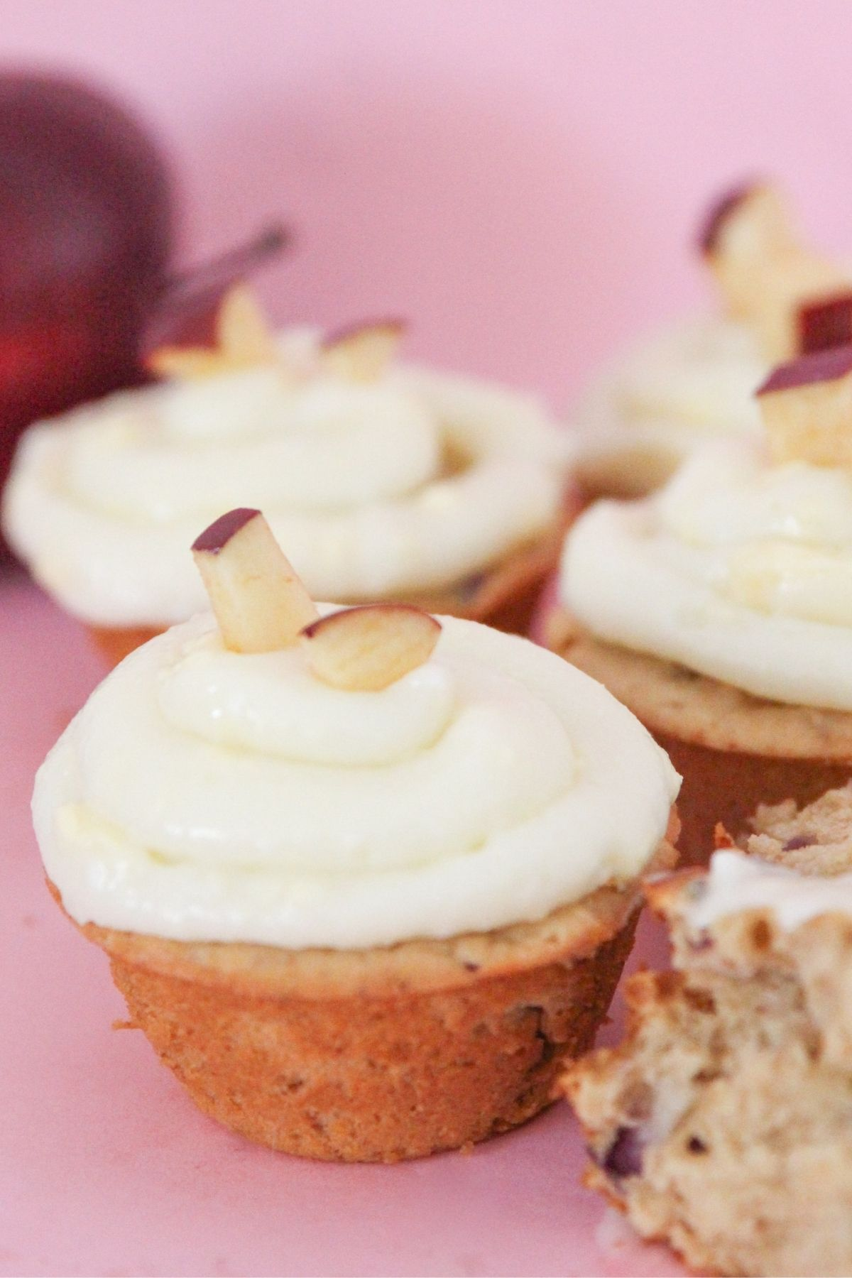 peanut butter and apple cupcakes for dogs