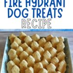 HOMEMADE DOG TREAT FIRE HYDRANT