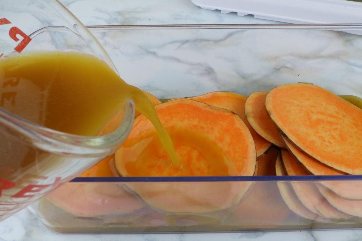 bone broth to sweet potato chips