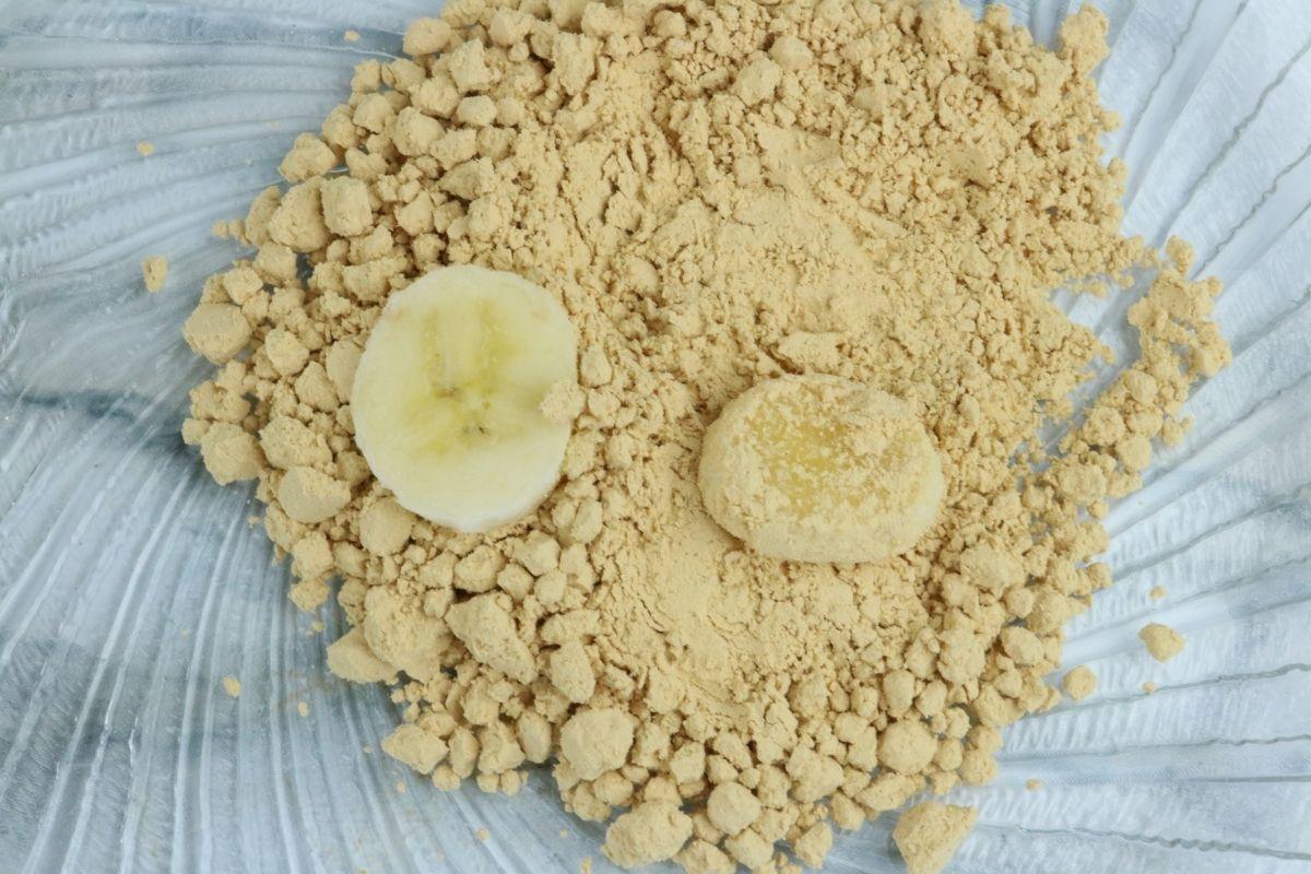 powdered peanut butter banana