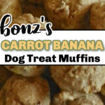 Bonz carrot muffins