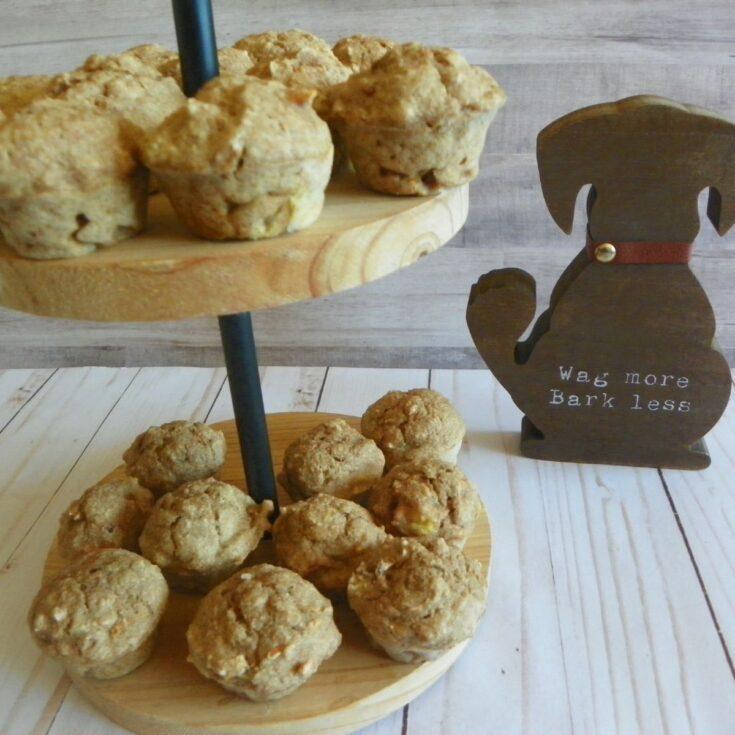 bonz carrot banana dog muffin