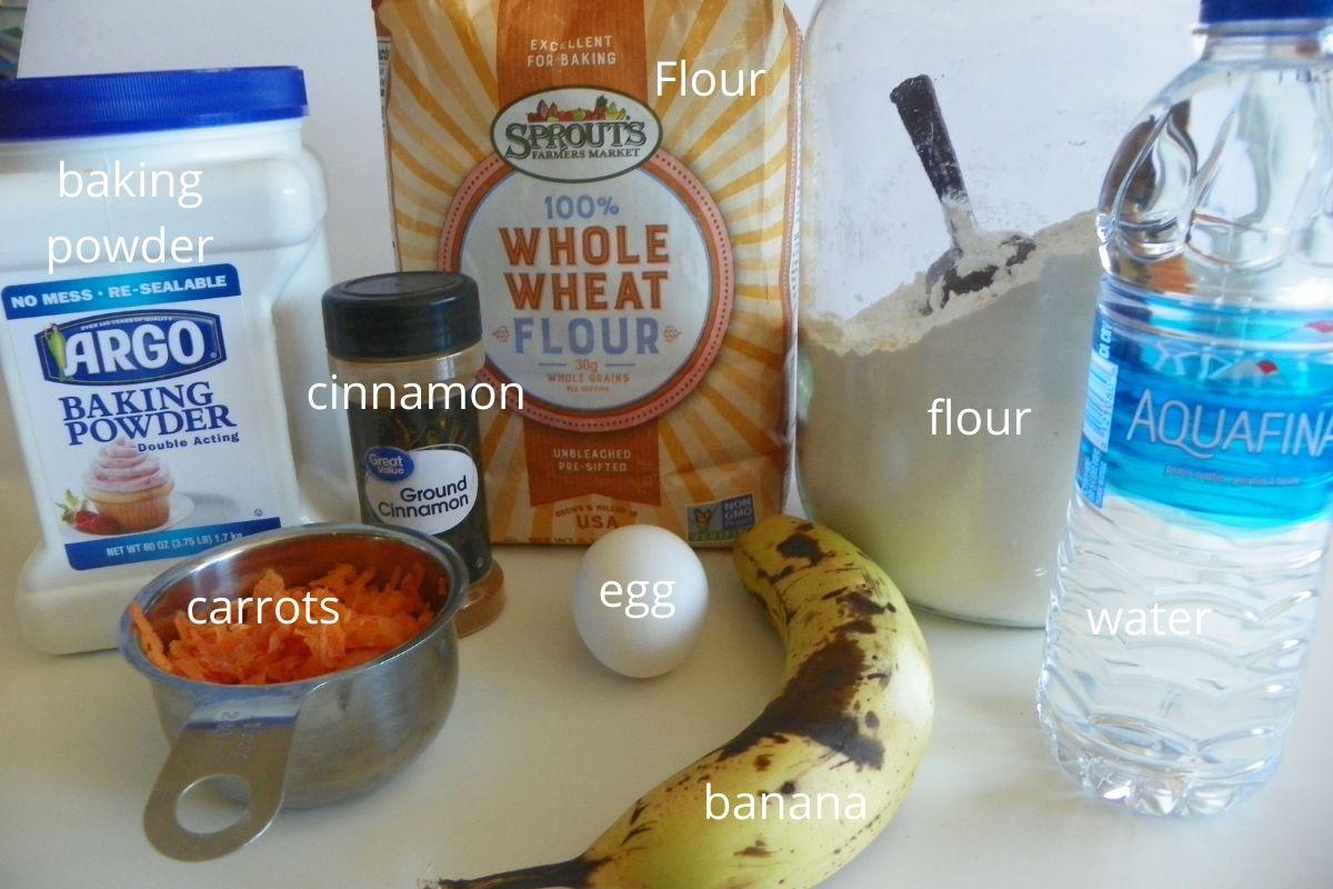 carrot banana muffin