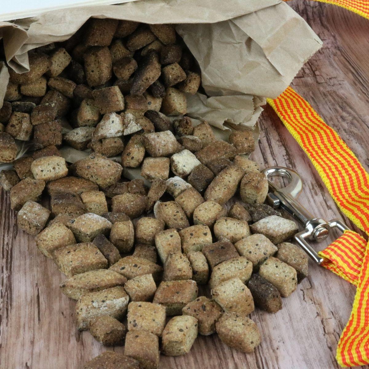 liver dog training treats