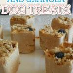 peanut butter granola dog treats