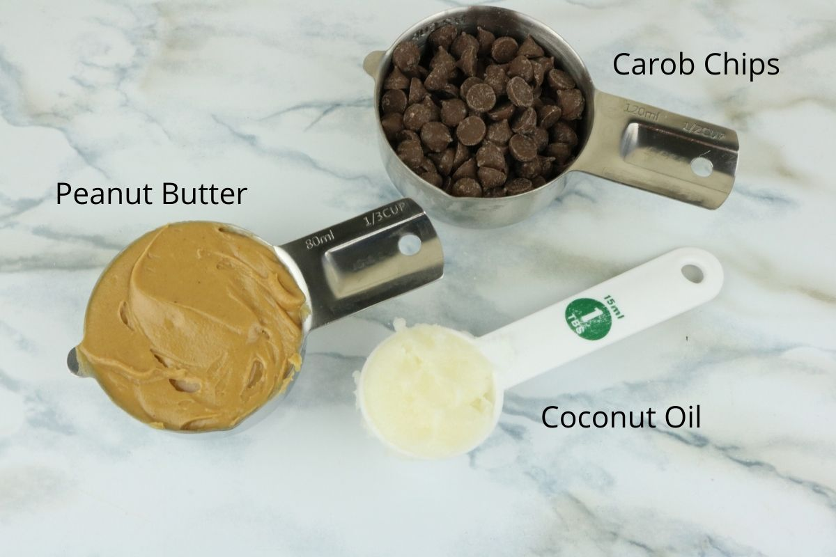 ingredients peanut butter cups for dogs