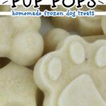 banana yogurt flax pup pops