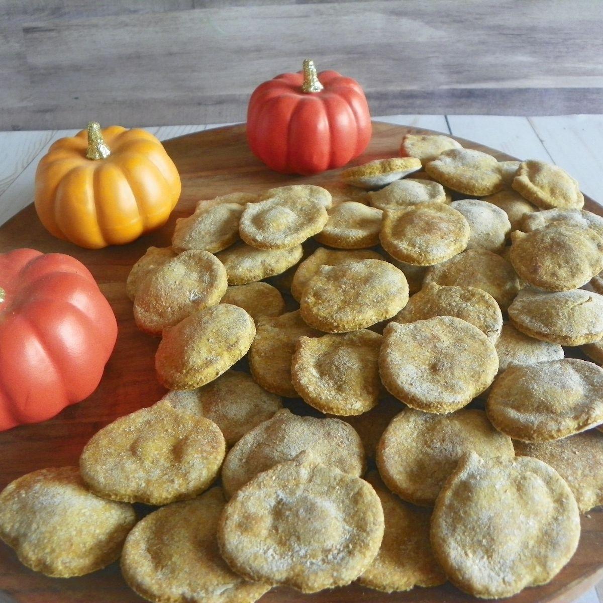 pumpkin dog treats homemade